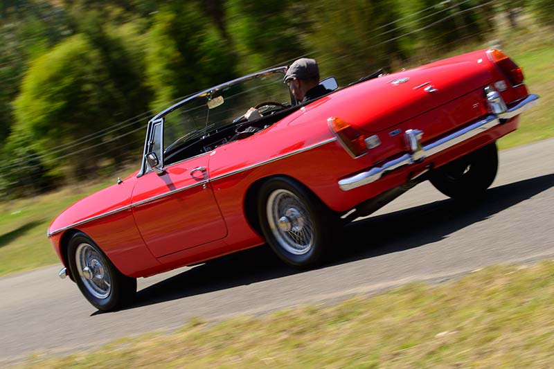 Mgb -onroad -rear