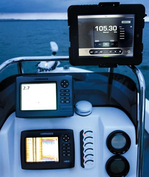 Lowrance HDS-7 setup