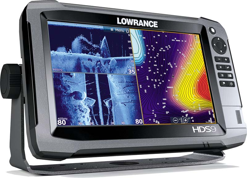 Lowrance HDS-9 Gen3 display