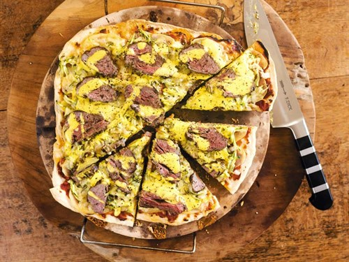 Weber -pizza