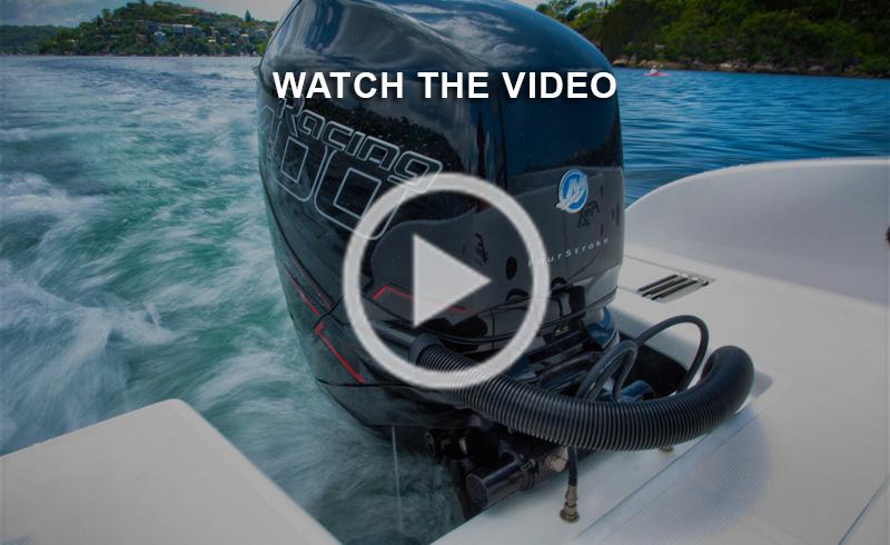 Mercury Verado 400R video