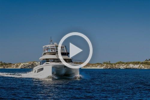 Aquila 44 power catamaran video