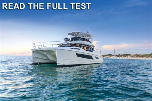 Aquila 44 power catamaran review