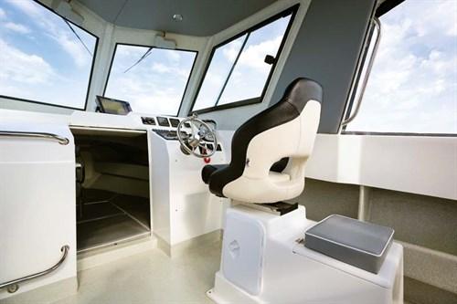 Interior of White Pointer 263 Hardtop