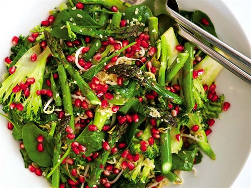 Pomegranate -salad -JS