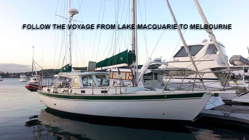 Moored sailing yacht.