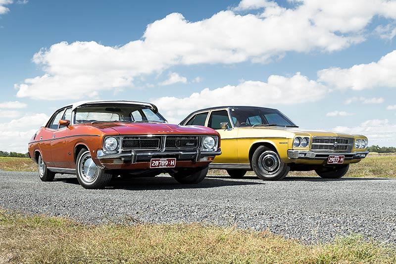 Holden -HQ-Premier -Ford -Fairmont -XB-front