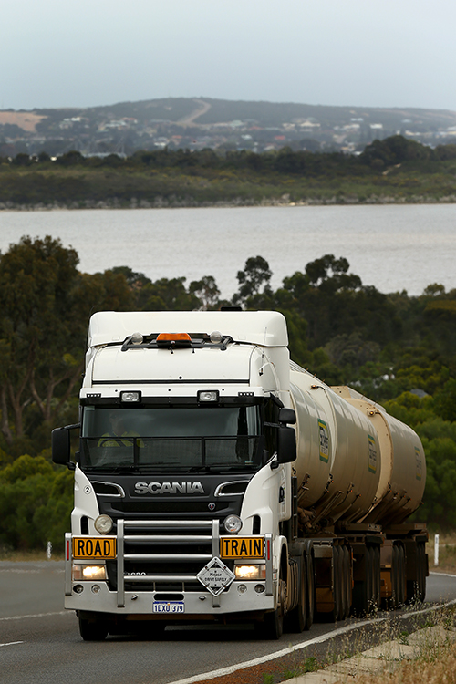 Fuel lifeline the scania truck fleet keeping farmers farming a c train climbs out of esperance south east petroleum also delivers fuel to remote service stations along the nullarbor fandeluxe Images