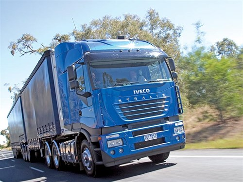 Iveco -Stralis --truck --review --ATN