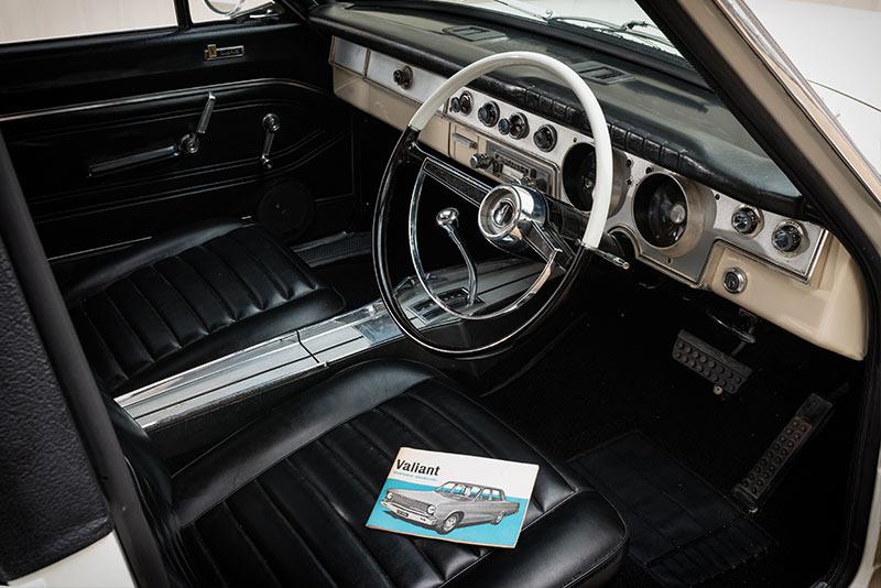 Valiant -Regal -interior -front