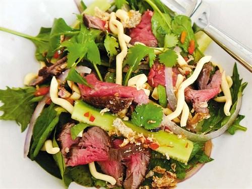 Beef -salad