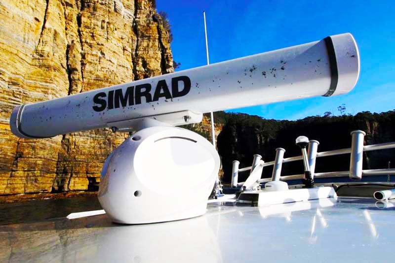 Simrad HALO-3 radar antenna