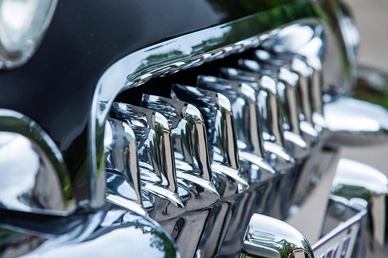 Chevrolet -Corvette -C1-front -chrome