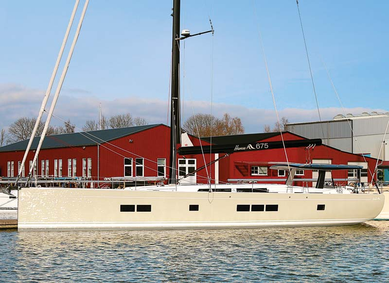 Hanse 675 sailboat