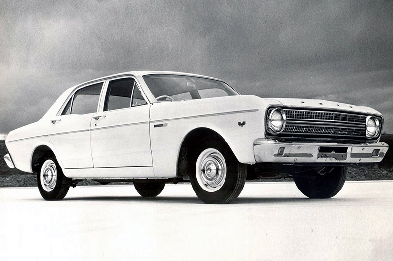 Ford -falcon -xr