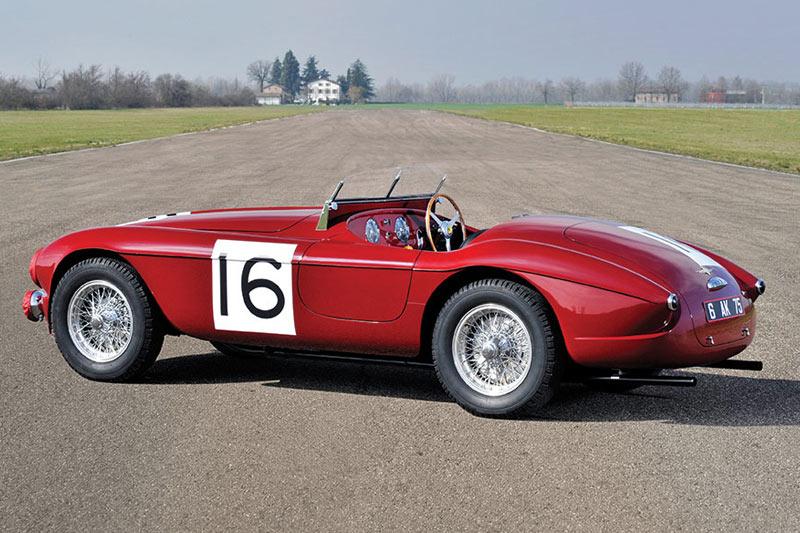 1951 Ferrari 340 America Barchetta By Touring -rear
