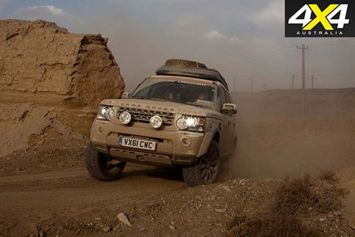 Land Rover Discovery 3 SUV offroad