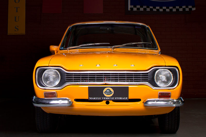Ford -Escort -front -view