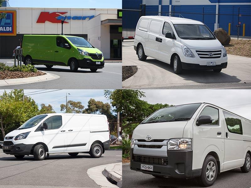 f8bb45feee Toyota HiAce vs Renault Trafic vs Hyundai iLoad vs Ford Transit