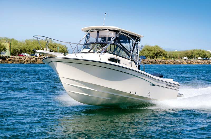 Grady White Seafarer 226 hardtop