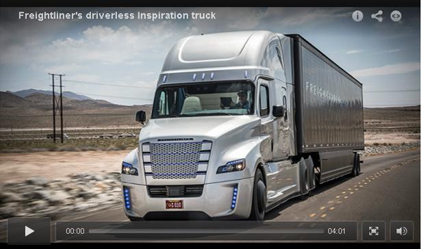 Freightliner Autonomous Vehicle