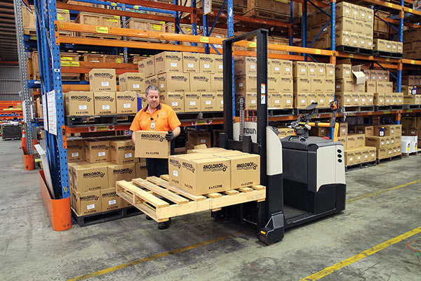 Crown -MPC3000-Forklift -Review ,-ATN7