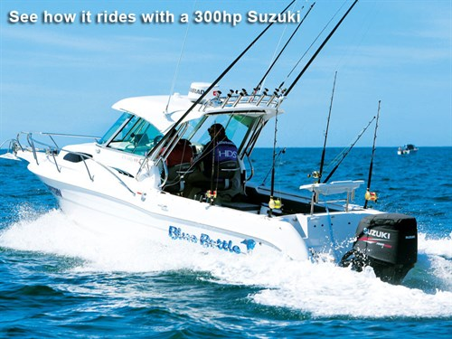 Cruise Craft 685HTwith 300hp Suzuki outboard