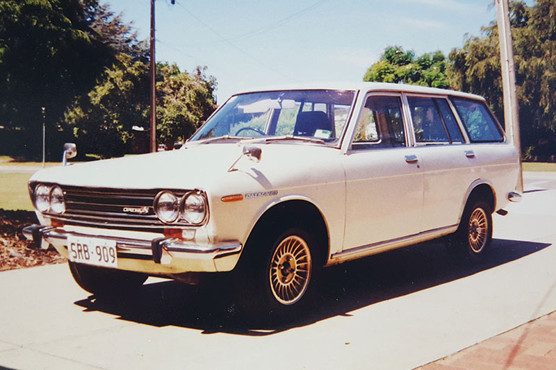 Datsun -1600-wagon -before