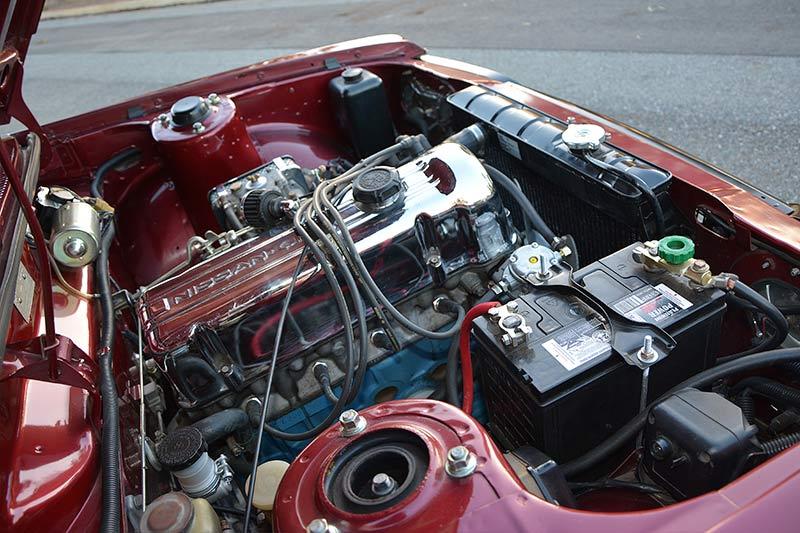 Datsun -1600-wagon -engine -bay -2