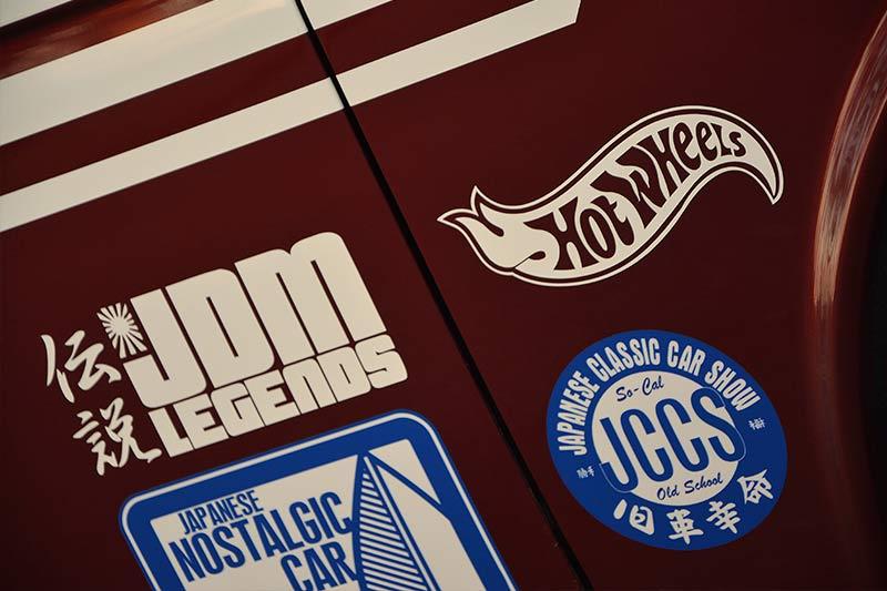 Datsun -1600-wagon -stickers