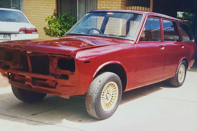 Datsun -1600-wagon -body -before