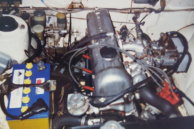 Datsun -1600-wagon -engine