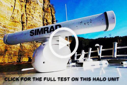 Simrad Halo3 radar video review