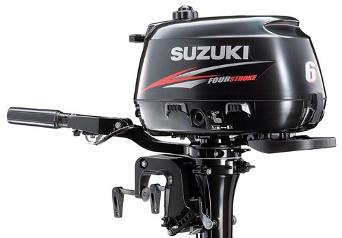 Suzuki portable outboard motor from The Haines Group