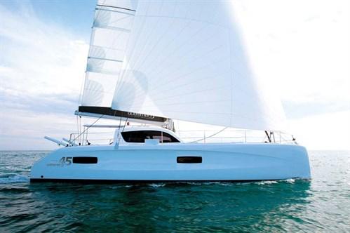 Sailing catamaran from Multihull Central