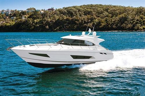 Luxury Riviera motor yacht