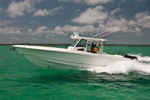 Boston Whaler boat