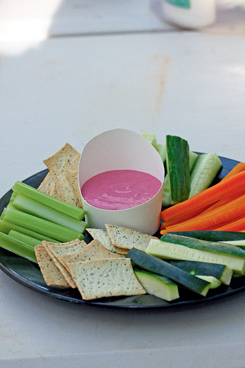 Beetroot -and -labneh -dip