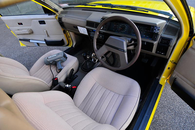 Holden -Commodore -VL-Turbo -interior -front