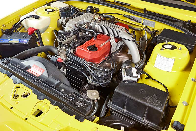 Holden -Commodore -VL-Turbo -engine -bay -3