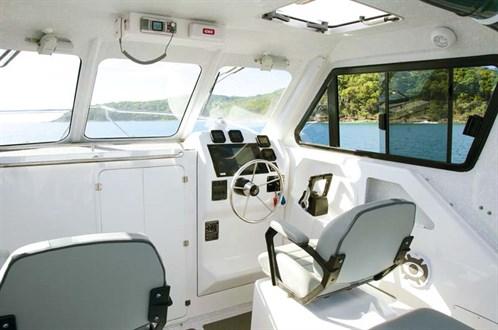 Hardtop cabin of Noosa Cat 2400