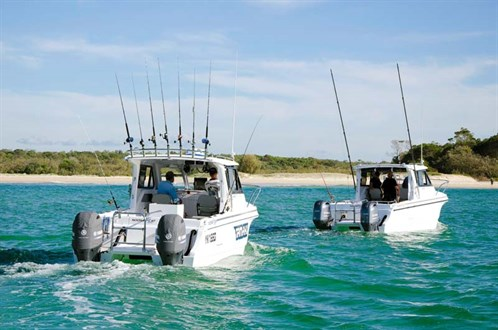 Noosa Cat 2400 power catamarans