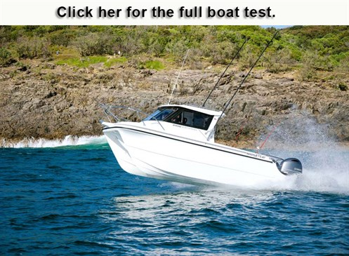 Noosa Cat 2400 Series Open Cabin review
