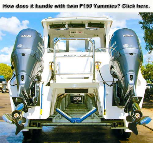 Twin Yamaha F150 outboard motor review
