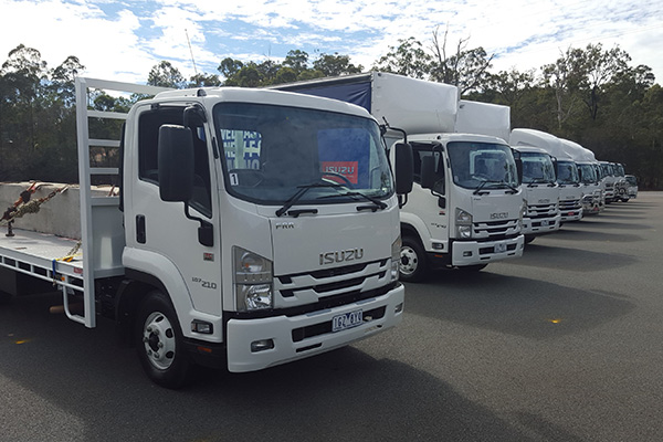 Isuzu -F-Series ,-4HK1,-6HK1,-IAL,-Trade Trucks