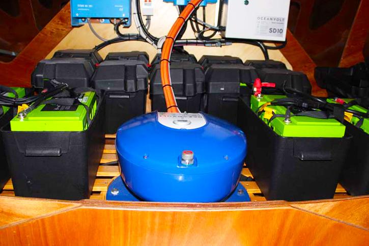 Ocean volt electronic power
