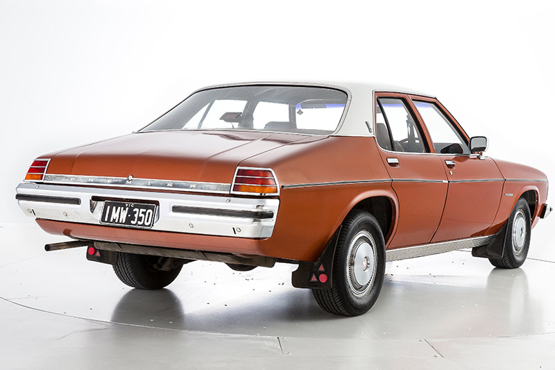 Holden -HQ-HZ-premier -rear -angle