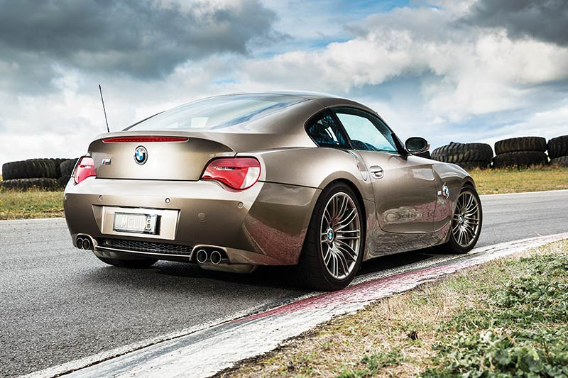 Bmw -z 4m -coupe -rear -angle