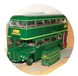 Flashback -Friday ,-Green -Routemasters ,-London ,-ABC,-Bus News2