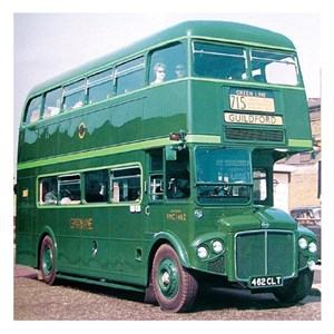 Flashback -Friday ,-Green -Routemasters ,-London ,-ABC,-Bus News5